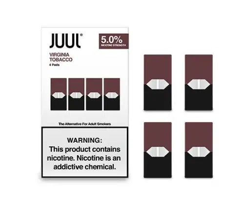 Virginia tobacco Juul