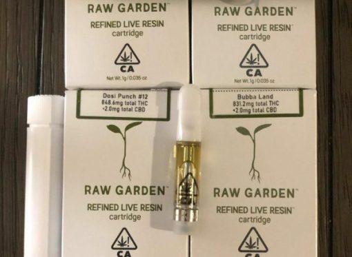 Raw Garden Cartridge