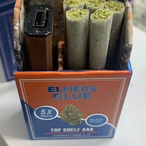 Elmer's glue strain