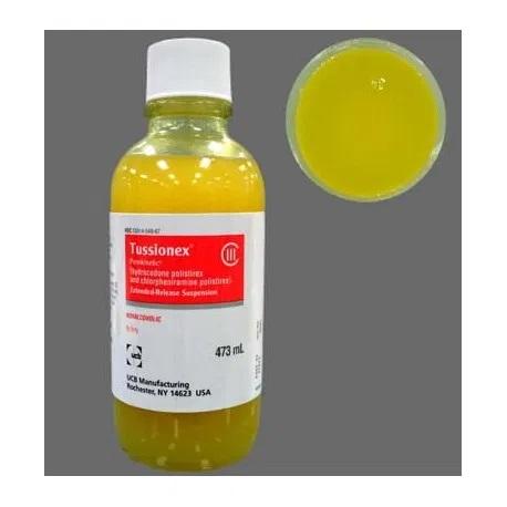 Tussionex Hydrocodone